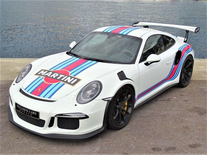 Porsche GT3 RS PDK 500 CV MARTINI RACING - MONACO Blanc - 18