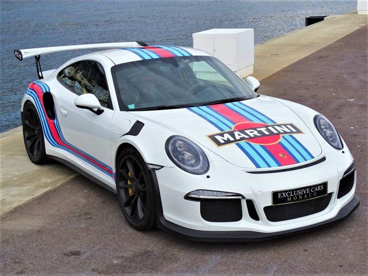 Porsche GT3 RS PDK 500 CV MARTINI RACING - MONACO Blanc - 19