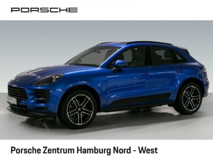 Porsche Macan bleu  - 1