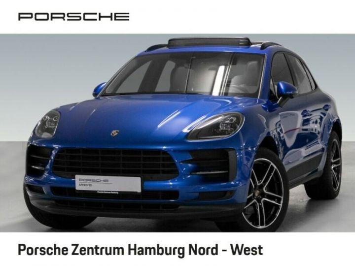 Porsche Macan bleu  - 16