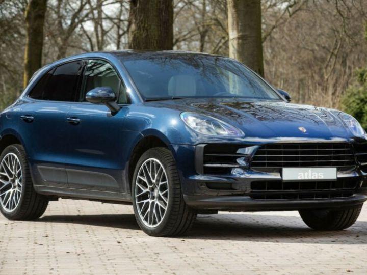 Porsche Macan bleu  - 2
