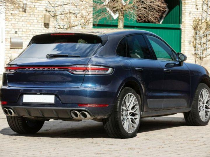 Porsche Macan bleu  - 5