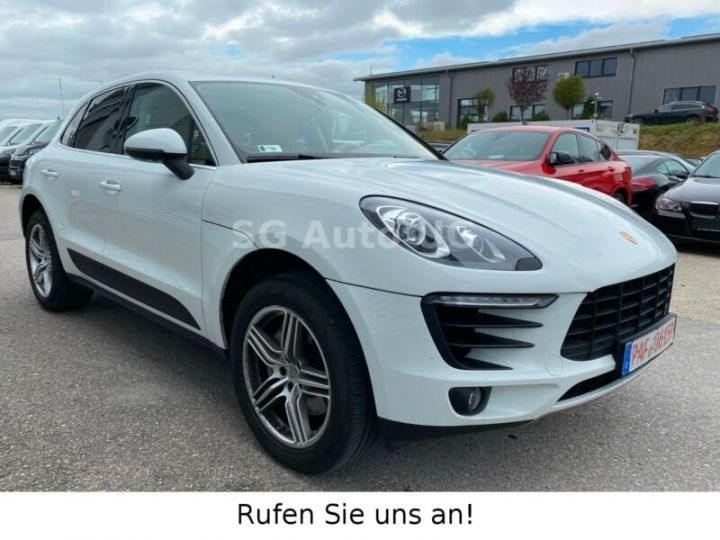 Porsche Macan Blanc - 1