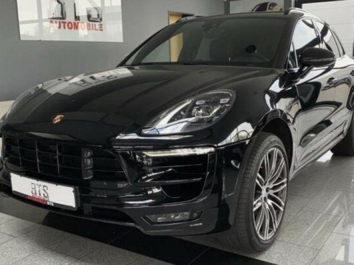 Porsche Macan cuir noir - 1
