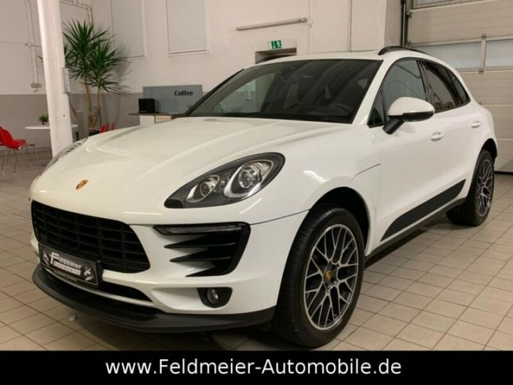 Porsche Macan 2.0 252ch PDK*Approved*Panorama*Livraison* Garante 12 Mois Blanc - 1