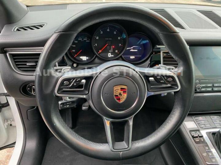 Porsche Macan  2,0 PDK EURO6 NAVI PDC PANO Blanc - 9