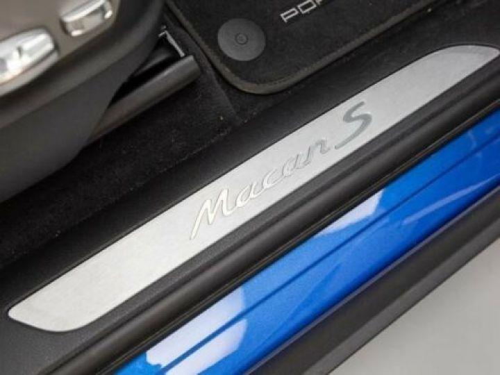 Porsche Macan 3.0 V6 258CH S DIESEL PDK BLEU Occasion - 12