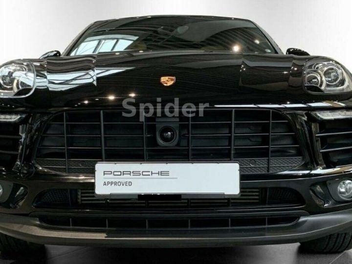Porsche Macan 3.0 V6 S D 258 01/2017, Toit pano, Attelage, régulateur de vitesse adaptatif. noir métal - 3