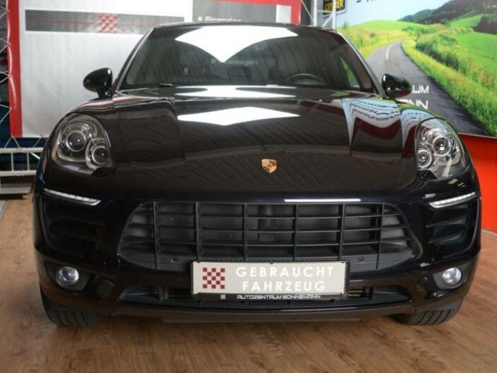 Porsche Macan 3.0 V6 S DIESEL Noir métallisé - 2