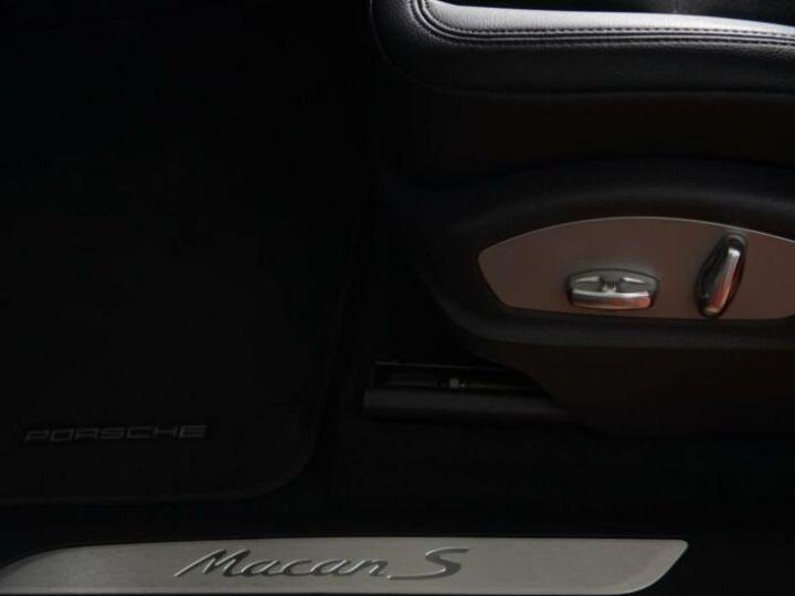 Porsche Macan 3.0 V6 S DIESEL Noir métallisé - 8