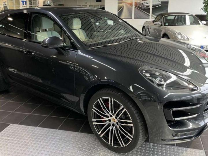 Porsche Macan 3.6 V6 440ch Turbo Pack Performance PDK *Toit pano-Cuir-Pack sport* MALUS/Livraison/Garantie 12 mois INCLUS Gris - 1