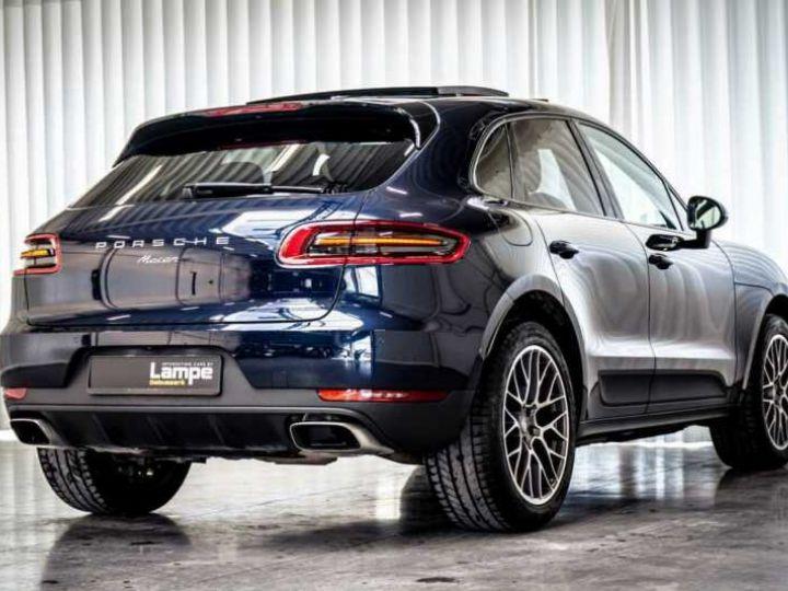 Porsche Macan Essence Pano,1ere Main, Toi Pano, 32791Kms Bleu Peinture métallisée - 5