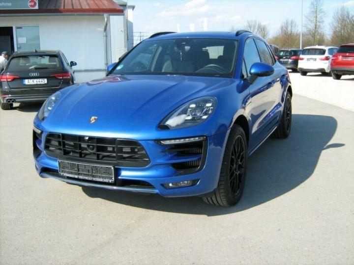 Porsche Macan gts  bleu - 1
