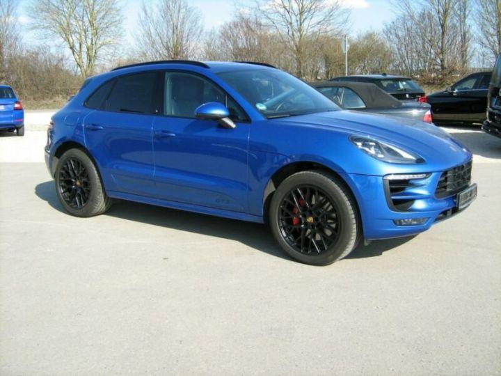 Porsche Macan gts  bleu - 4