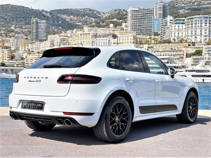 Porsche Macan GTS 3.0 V6 PDK 360 CV - MONACO Blanc  - 13