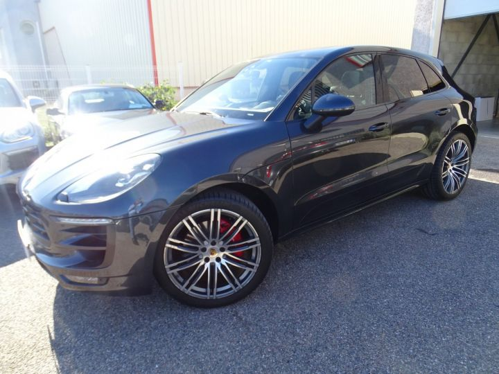 Porsche Macan GTS 3.0L 360PS PDK FULL Options gris anthracite métallisé - 5