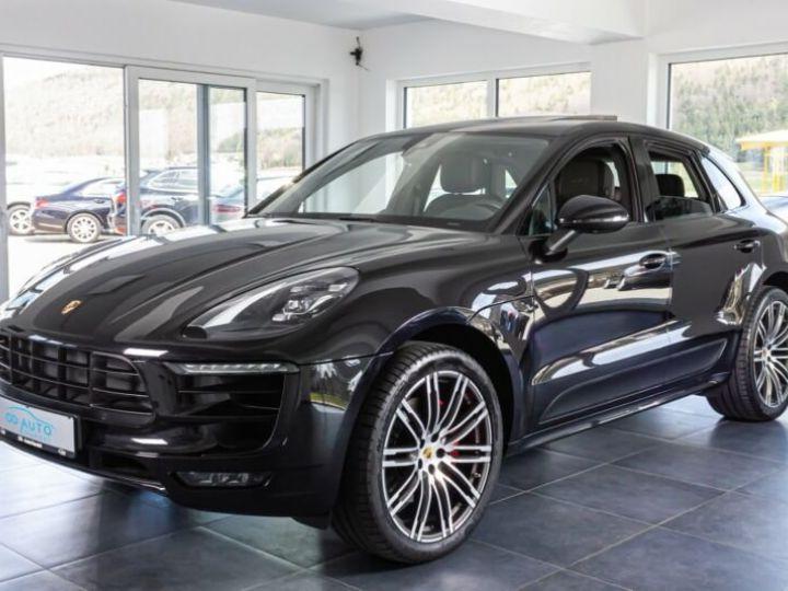 Porsche Macan gts * toit ouvrant * 1 main  noir jais métallisé  - 1