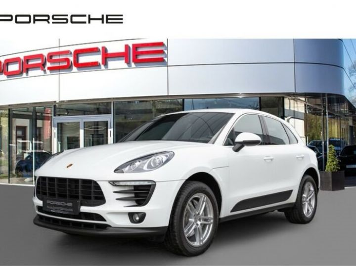 Porsche Macan # Inclus Carte Grise, malus écolo et livraison à votre domicile # Blanc - 1