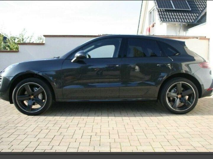 Porsche Macan # Inclus Carte Grise, Malus écolo et livraison à votre domicile # 1ere Main Gris Peinture métallisée - 3