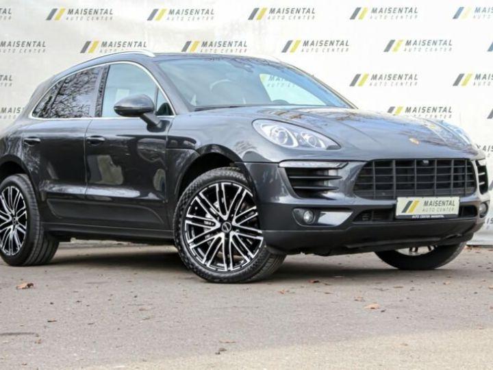 Porsche Macan # Inclus Carte Grise, Malus écolo et livraison à votre domicile # 1ere Main Noir Peinture métallisée - 1