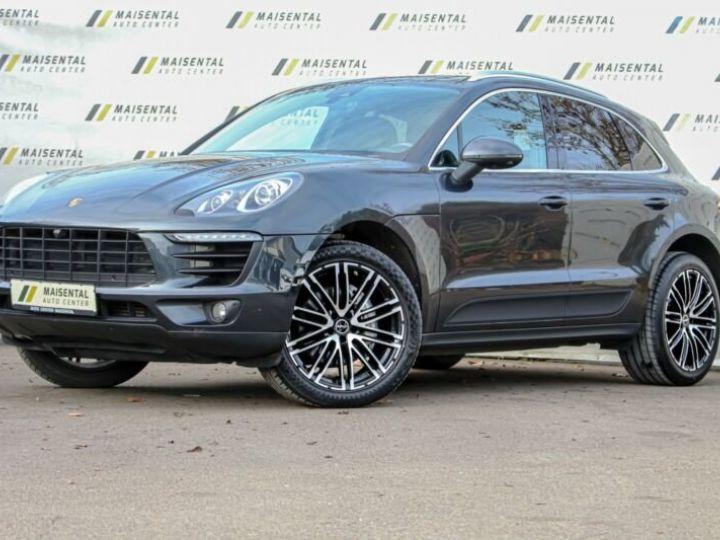 Porsche Macan # Inclus Carte Grise, Malus écolo et livraison à votre domicile # 1ere Main Noir Peinture métallisée - 3
