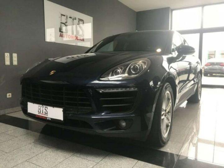 Porsche Macan # inclus CG, Malus écolo et livraison à domicile # Bleu Peinture métallisée - 2