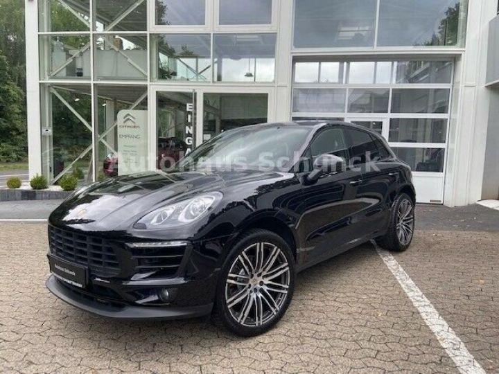 Porsche Macan MACAN 252 ch , PORSCHE APPROVED 08/2022 !  noir metallisé - 1
