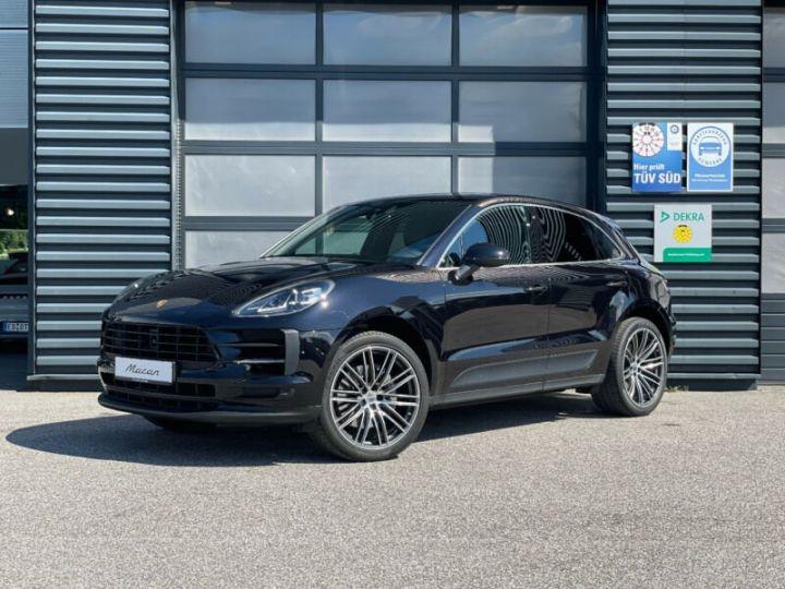 Porsche Macan macan S garantie porsche approved 12 mois  noir - 1