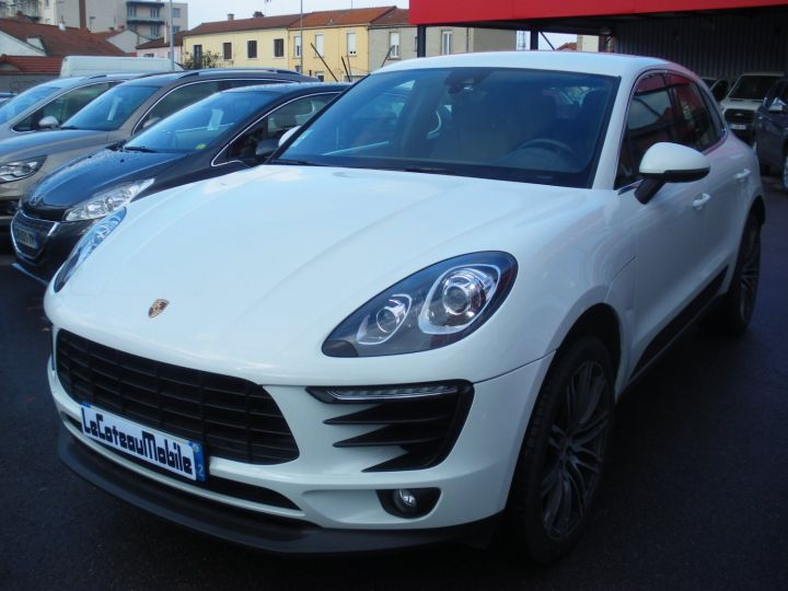 Porsche Macan MACAN S TDI 260 CV Blanc - 1