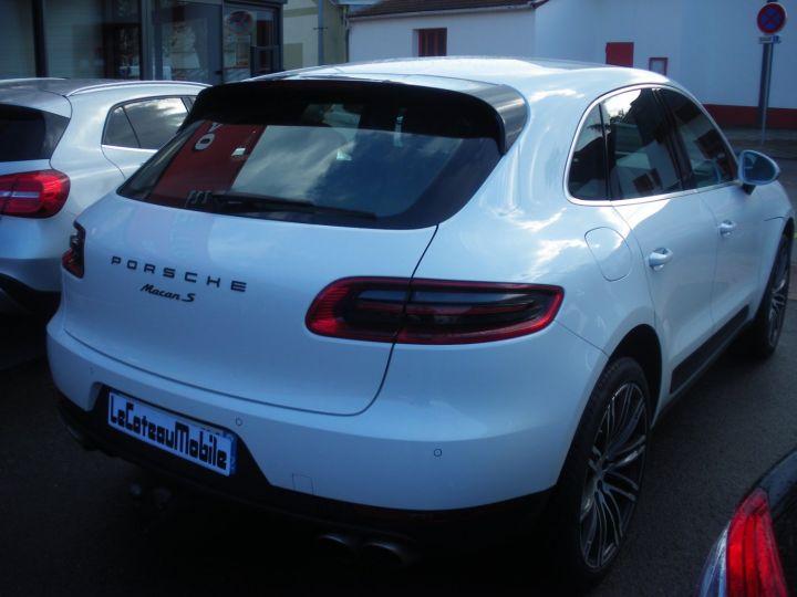 Porsche Macan MACAN S TDI 260 CV Blanc - 6