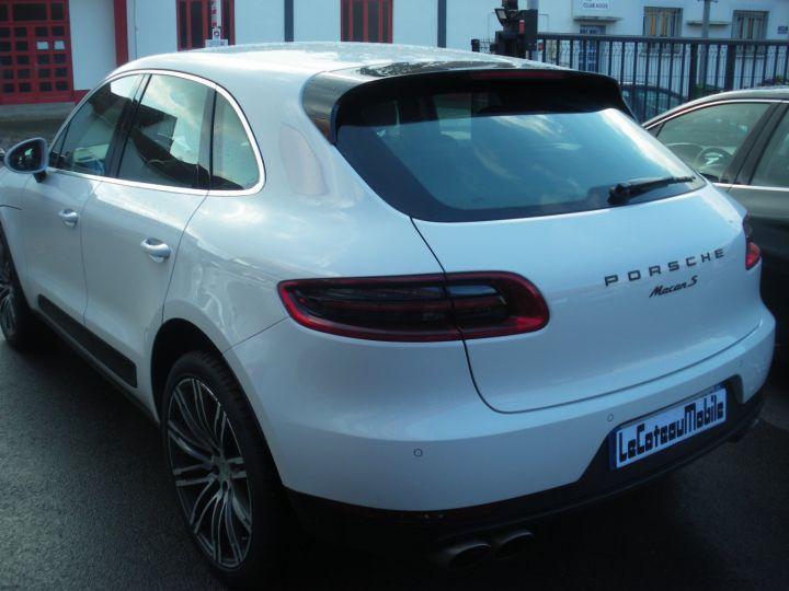 Porsche Macan MACAN S TDI 260 CV Blanc - 10