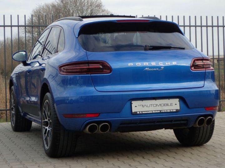 Porsche Macan macan s toit ouvrant  bleu saphir - 4