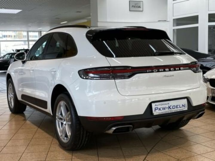 Porsche Macan Porsche Macan 2.0 245 , PASM, TOP, Caméra, 1ère Main , Garantie Constructeur 10/2021 BLANC PURE WHITE - 7