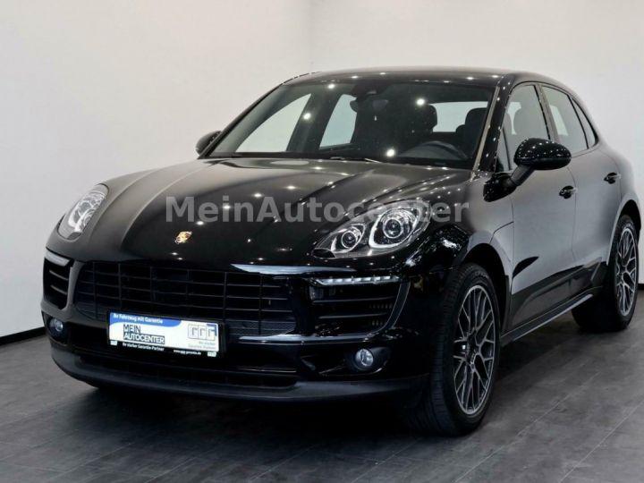 Porsche Macan Porsche Macan  PDK  S Diesel Toit Panoramique/Entretiens Porsche / 1ere MainGarantie 12 Mois  Noir - 1