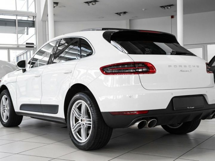 Porsche Macan Porsche Macan S 3.0 V6 340 ch S PDK/GPS/TOIT PANO/FAIBLE KM/GARANTIE 12 MOIS Blanc - 3