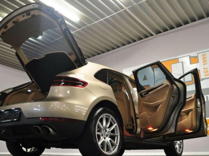 Porsche Macan Porsche Macan S DIESEL TIP PANO, 1ere main Beige metallisée - 4