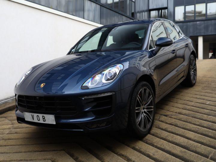 Porsche Macan PORSCHE MACAN TURBO 400CV / PANO/360 /1 MAIN /FULL OPTIONS Dark Blue - 1