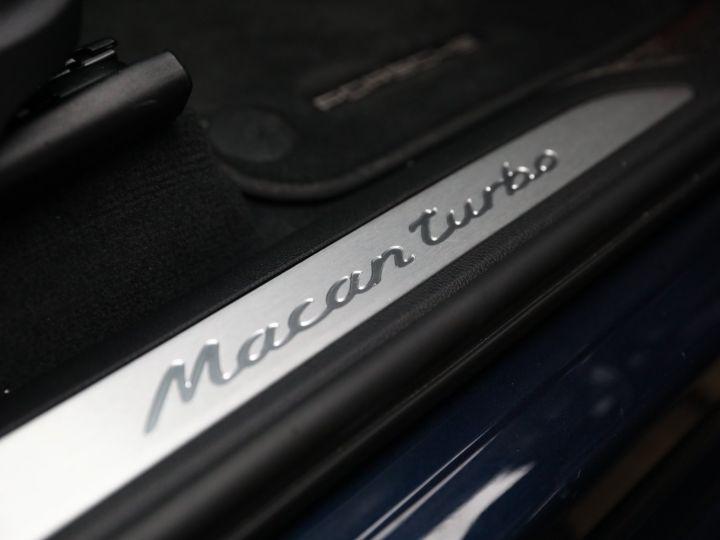Porsche Macan PORSCHE MACAN TURBO 400CV / PANO/360 /1 MAIN /FULL OPTIONS Dark Blue - 45