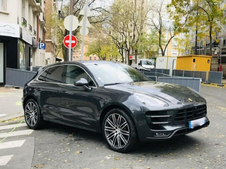 Porsche Macan PORSCHE MACAN TURBO /FRANCE /2018 /FULL OPTIONS/ PSE /CHRONO /TVA /ETAT NEUF Gris - 5