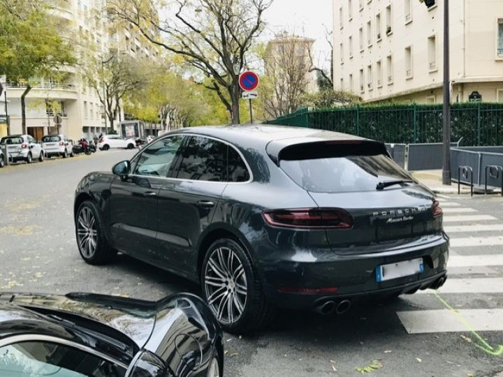 Porsche Macan PORSCHE MACAN TURBO /FRANCE /2018 /FULL OPTIONS/ PSE /CHRONO /TVA /ETAT NEUF Gris - 11