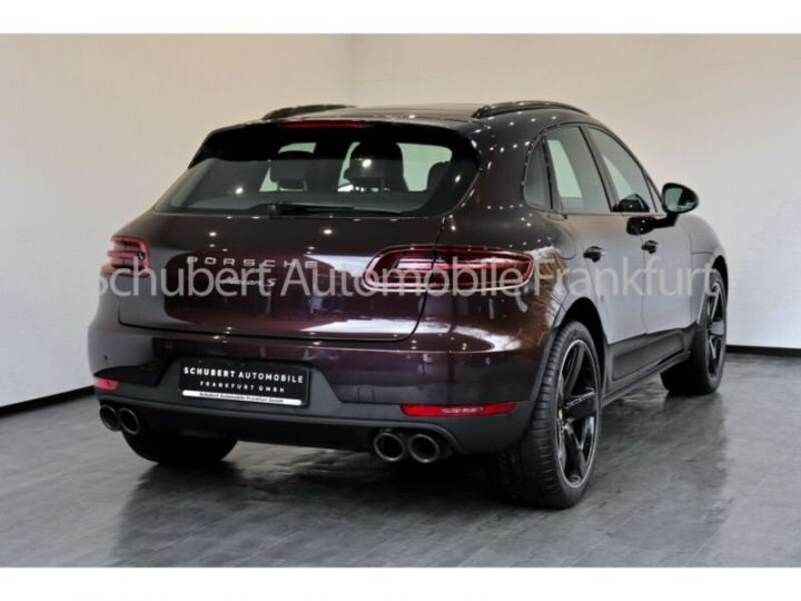 Porsche Macan s marron acajou - 2