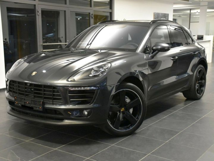 Porsche Macan S 3.0 V6 258 CH - LED-Pack sport chrono Plus -ACC-TOIT PANO -CAMERA 360-21' GRIS VOLCAN - 1