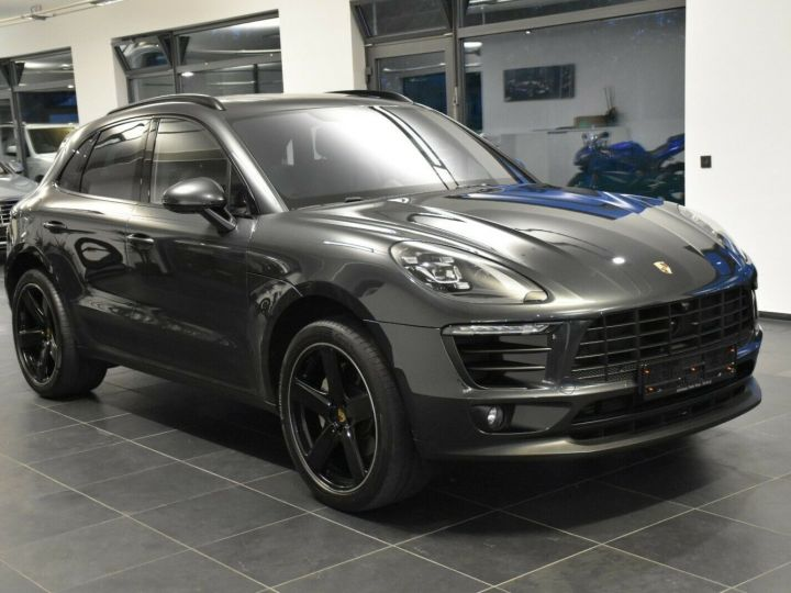 Porsche Macan S 3.0 V6 258 CH - LED-Pack sport chrono Plus -ACC-TOIT PANO -CAMERA 360-21' GRIS VOLCAN - 2
