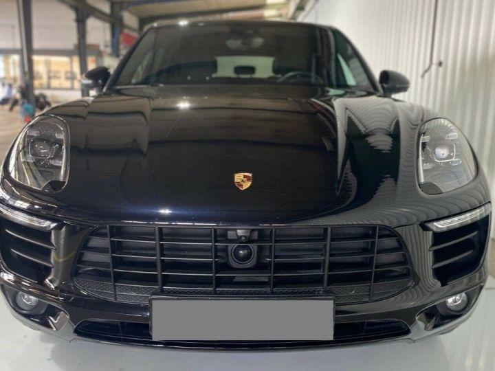 Porsche Macan S 3.0 V6 258 PDK DIESEL 08/2017 (PASM) Toit panoramique noir métal - 1