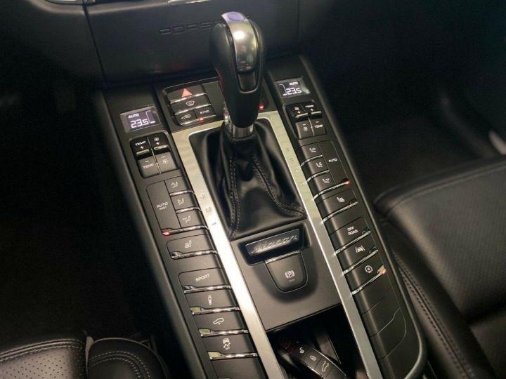 Porsche Macan S 3.0 V6 258 PDK DIESEL 08/2017 (PASM) Toit panoramique noir métal - 16