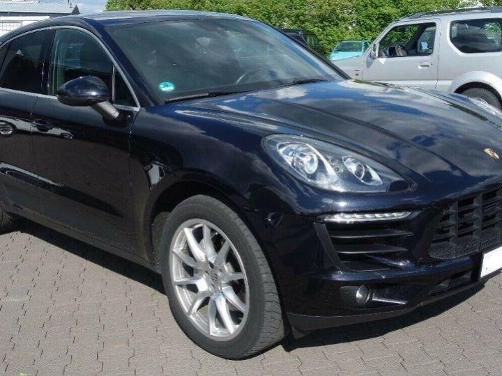 Porsche Macan S 3.0 V6 258 PDK DIESEL PASM (04/2014) noir métal - 1