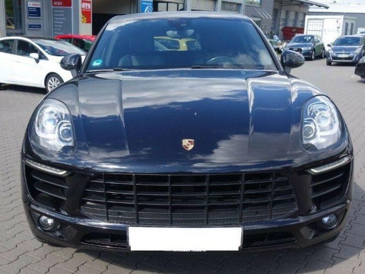 Porsche Macan S 3.0 V6 258 PDK DIESEL PASM (04/2014) noir métal - 3
