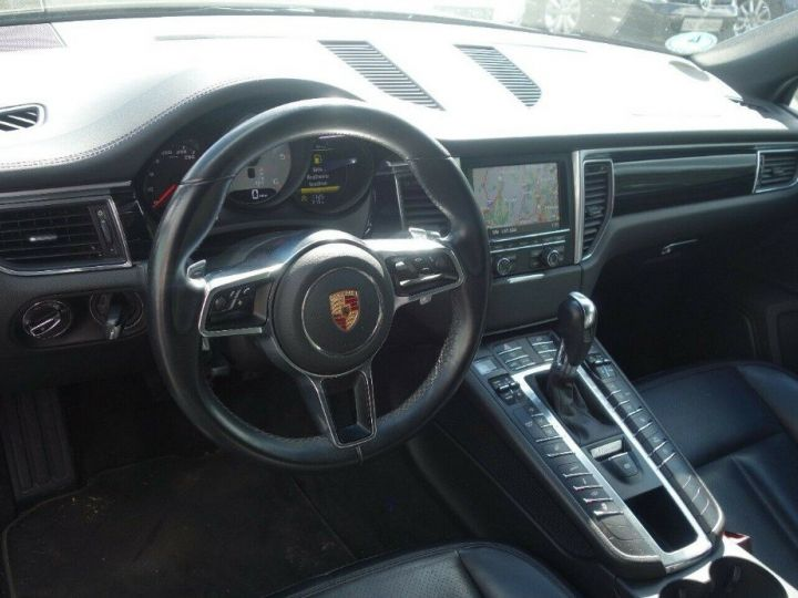 Porsche Macan S 3.0 V6 258 PDK DIESEL PASM (04/2014) noir métal - 11
