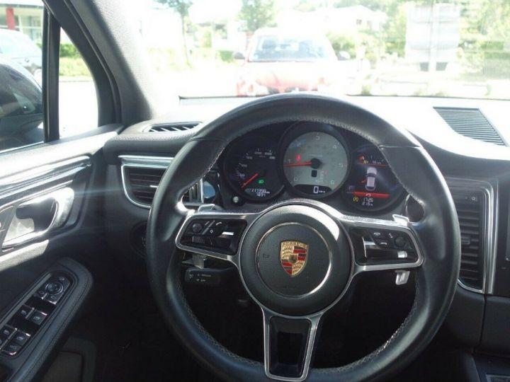 Porsche Macan S 3.0 V6 258 PDK DIESEL PASM (04/2014) noir métal - 13