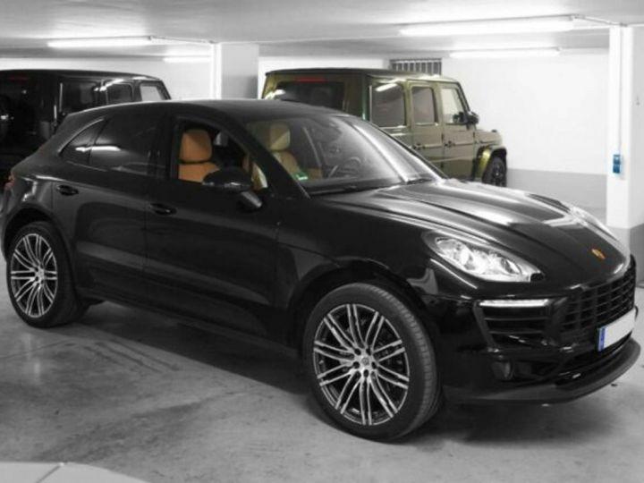 Porsche Macan S * 340cv - 2017 - PDK - Toit Panoramique & Attelage *Livré & garantie 12 mois* Noir - 1